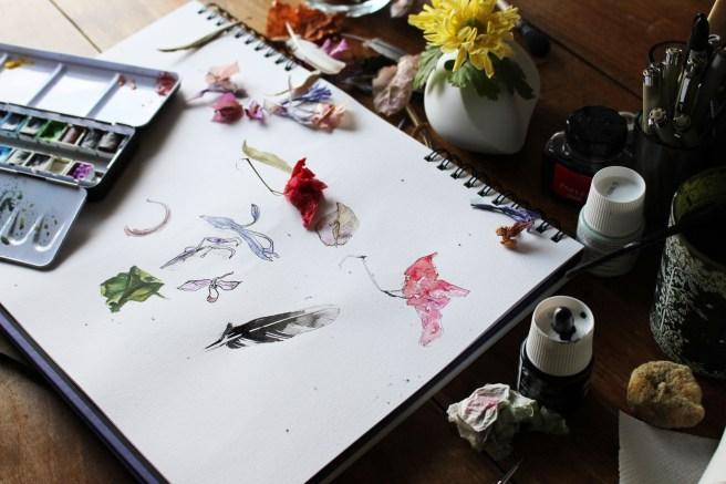 how to be Creativity. DIY- Smal magical Creativity cards