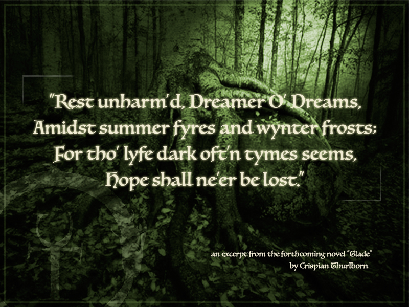 "Excerpt III from ""Glade"" - The Dreamer"